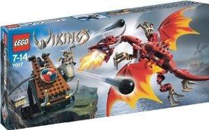 LEGO (レゴ) Vikings 7017 Viking Catapult versus the Nidhogg Dragon ブロック おもちゃ