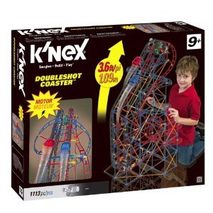 K'NEX (ケネックス) DoubleShot Roller Coaster ブロック おもちゃ