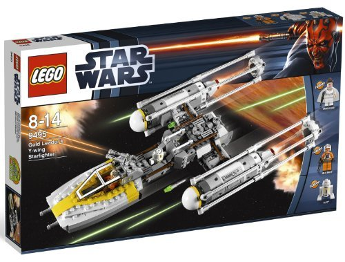 LEGO Star Wars A New Hope Gold Leader's Y-Wing Starfighter Set #9495 by LEGO