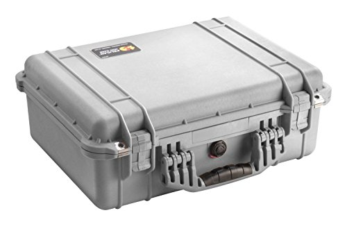 Pelican 1520 Case with Foam for Camera (Silver)