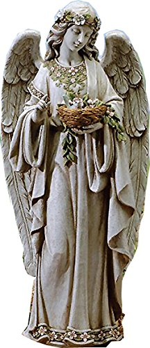信頼 高さ 約61cm 約61cm 高さ ヨセフスタジオ製 鳥の巣を持つ天使 彫像 彫像, ハズチョウ:396afc29 --- canoncity.azurewebsites.net
