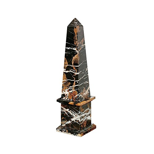 Design Toscano Grand Solid Marble Obelisk