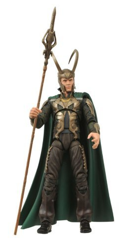 Diamond Select Toys Marvel Select: Loki (Movie Version) Action Figure by Diamond Select