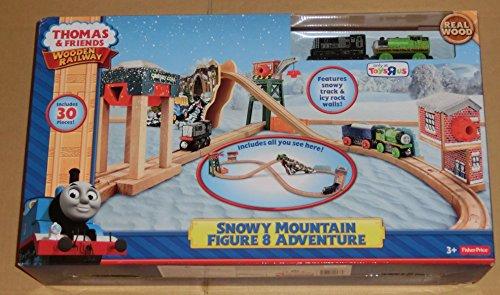 きかんしゃトーマス 木製レール スノーマウンテン 8の字 アドベンチャー snowy mountain figure 8 adven