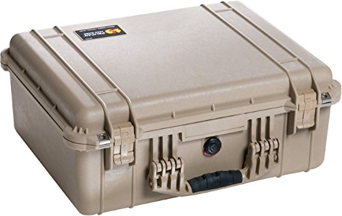 Pelican 1550 Case with Foam for Camera (Desert Tan)