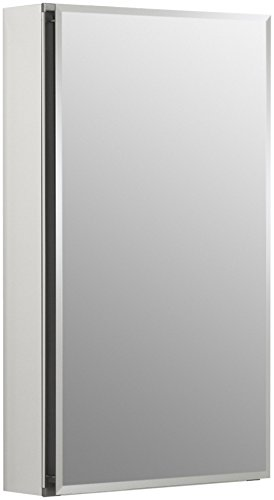 KOHLER Single Door 15-Inch by 26-Inch by 5-Inch Aluminum Cabinet