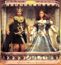 Ken バービー 人形 Camelot's King クイーン, Arthur Guinevere