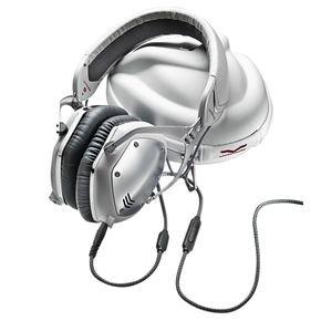 ブイモーダ/V-MODA Crossfade M-100 White Crossfade Silver White M-100/ヘッドフォン, アティコベネ:6b088afd --- ww.thecollagist.com