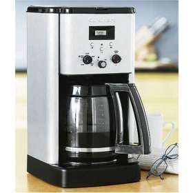 Cuisinart Brew Central 12-cup Porgrammable Coffeemaker + Permanent gold-tone filter and charcoal w