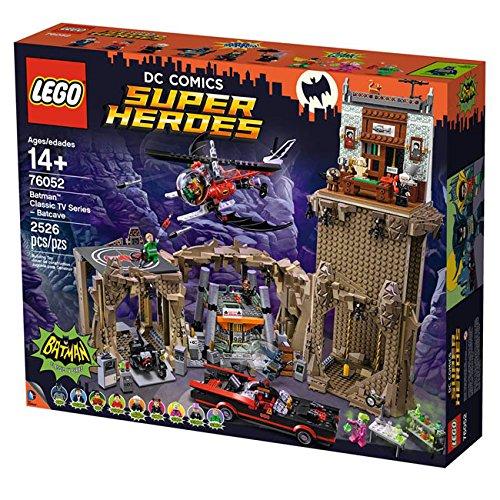 レゴ LEGO 76052 レゴ DC スーパー ヒーローズ バットマン クラシック TVシリーズ バットケイブ lego ブ