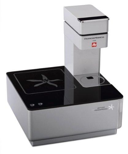 ボタンを押すだけで本格的なエスプレッソが作れる★タッチエスプレッソマシン Illy Caffe社 ブラック