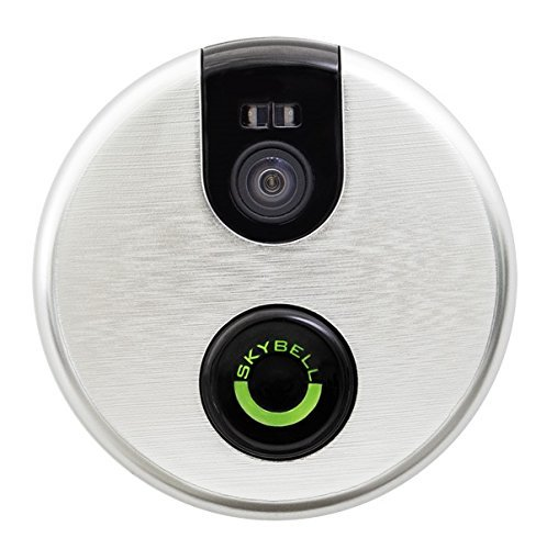 SkyBell Wi-Fi Video Doorbell Version 2.0 (SILVER)