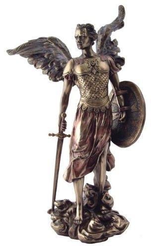 13.5 Archangel Michael Statue Figurine Figure Miguel San Saint Angel St by TLT