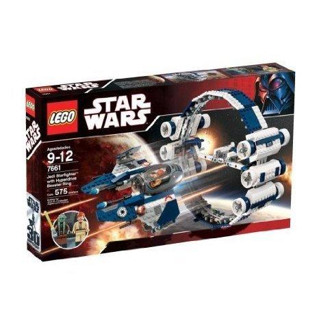 LEGO (レゴ) Star Wars (スターウォーズ) Set #7661 Jedi (ジェダイ) Starfighter with Hyperdrive Boost