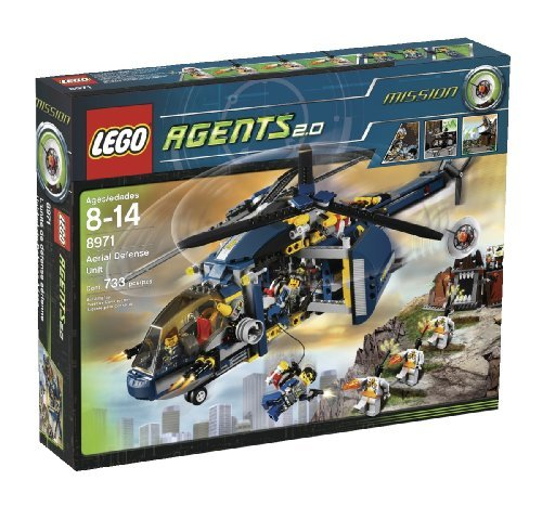 おもちゃ Lego レゴ Agents Aerial Defense (8971)