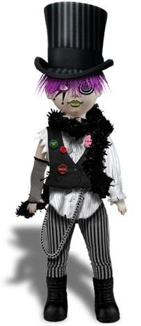 Mezco Toyz Living Dead Dolls Alice In Wonderland Figure Cybil as The Mad Hatter by Mezco Toys