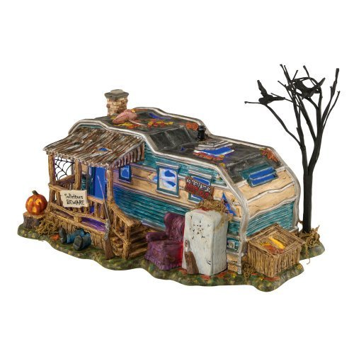 Halloween Snow Village from Department 56 Lot 13, Crystal Lake by Department 56