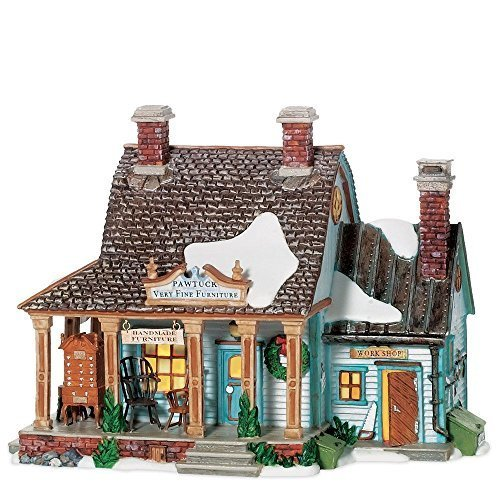 Department 56 New England Village Pawtuck Furniture Maker by Department 56