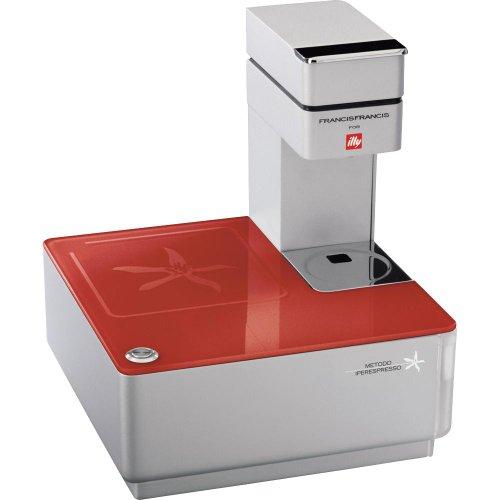 ボタンを押すだけで本格的なエスプレッソが作れる★タッチエスプレッソマシン Illy Caffe社 レッド