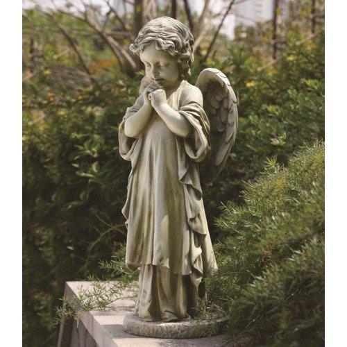Joseph Studio 42513 Tall Standing Angel Child Praying Statue, 26-Inch