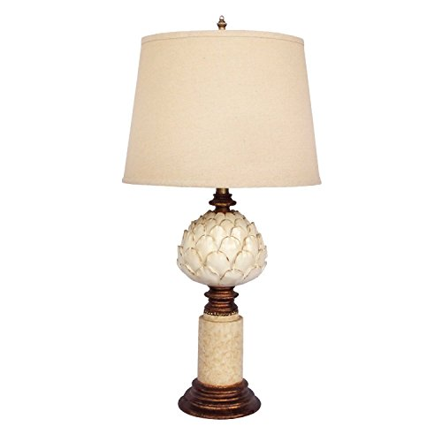 Design Toscano Springfield Rise Table Lamp, 15 x 15 x 28.5'