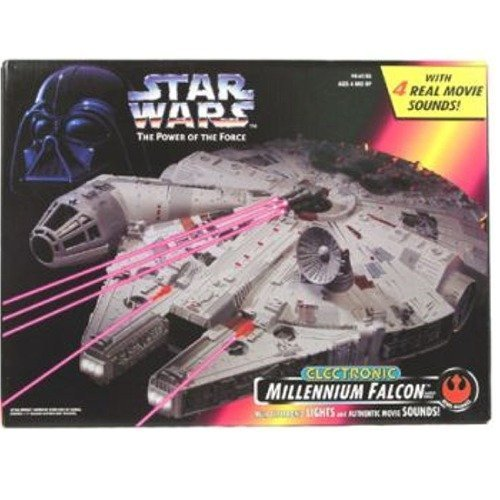 スターウォーズ Star Wars Power of the Force Electronic Millennium Falcon ミレニアムファルコン