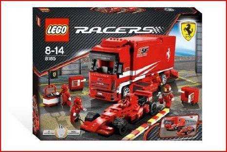 最高の品質 Lego Truck (レゴ) Racers - Ferrari Truck - Style# 8185 ブロック Ferrari おもちゃ, E-NOALZU:9c32c819 --- canoncity.azurewebsites.net
