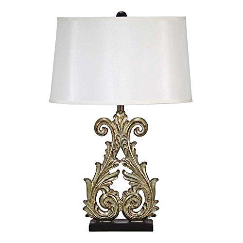 Design Toscano Crowne Essex Table Lamp (Set of 2), 18 x 11 x 28.5'