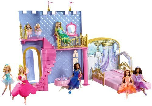 Mattel - Barbie 12 Dancing Princesses Castle by Barbie