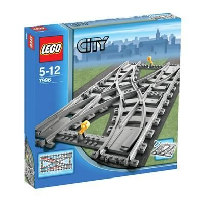 LEGO City Train Track Splitter (7996) by LEGO
