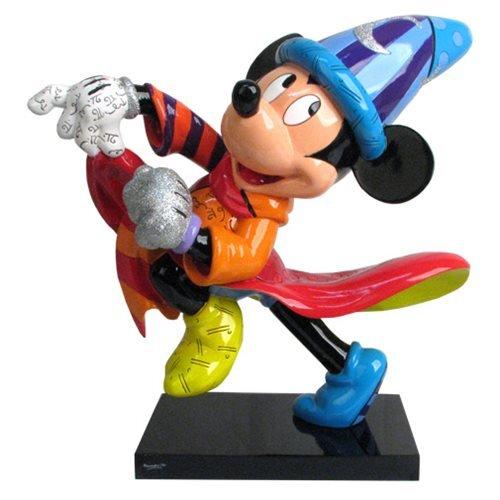 Disney Sorcerer Mickey 14-Inch Statue by Romero Britto