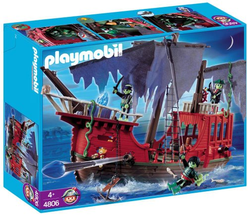 PLAYMOBIL (プレイモービル) Ghost Pirate Ship Set
