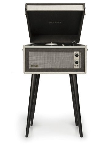 Crosley Dansette Series Bermuda Turntable - Black by Crosley