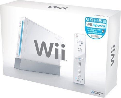 Wii本体 (シロ) (「Wiiリモコンジャケット」同梱) (北米版)