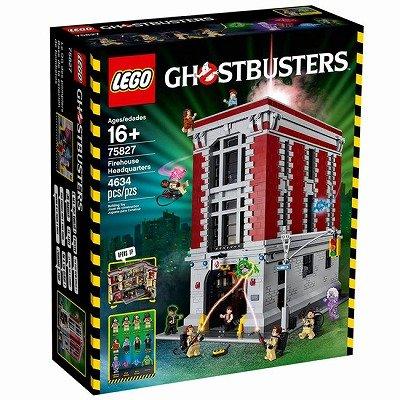 LEGO レゴ 75827 ゴーストバスターズHQ 消防署本部