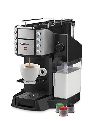 Cuisinart EM-600 Buona Tazza Superautomatic Single Serve Espresso Caffe Latte Cappuccino Machine,
