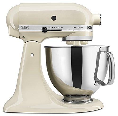 KitchenAid 5クォート KSM150 アーティシャン・シリーズ キッチンエイドミキサー (Almond Cream)