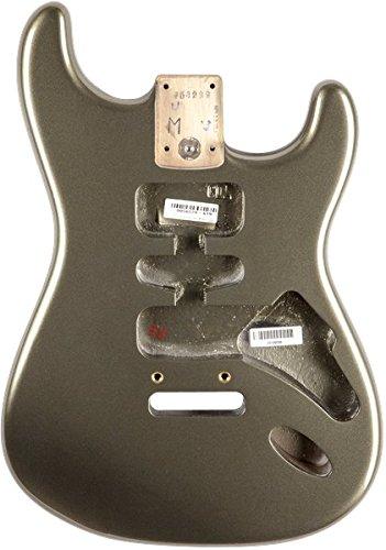 フェンダー Fender USA 純正パーツ 998001719 Stratocaster HSH Alder Body Modern Bridge Mount Jade Pe