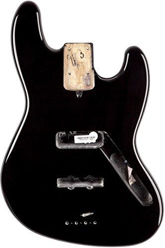 フェンダー Fender USA 純正パーツ 998007706 Jazz Bass Alder Body, Black ジャズベース 塗装済み 交換