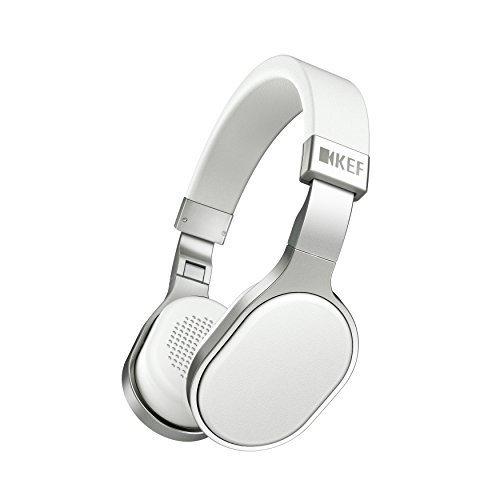 KEF M500 Hi-Fi On-Ear Headphones - Aluminum/White by KEF