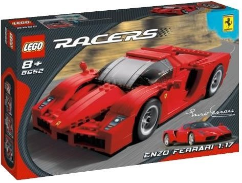 レゴ レーサー エンツォ・フェラーリー 1/17 8652 LEGO Racers: Enzo Ferrari 1:17 Scale