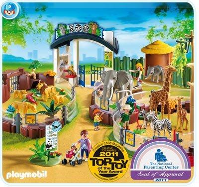 Playmobil プレイモービル Large Play Zoo 4850