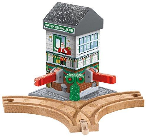 トーマス木製レールシリーズ Christmas Crossings Train Set(CMX15) & トビーの風車(LC99389) セット
