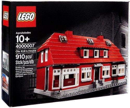 出産祝い レゴ lego 4000007 オレ・カーク ブロック レゴ創業者の家 レゴ社員にのみに配布された非売品 lego 910ピース レゴ創業者の家 ブロック, ブランドリサイクル マルク:1deccb1c --- canoncity.azurewebsites.net