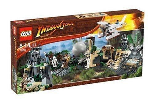 おもちゃ Lego レゴ indiana jones インディジョーンズ 7623 Temple Escape