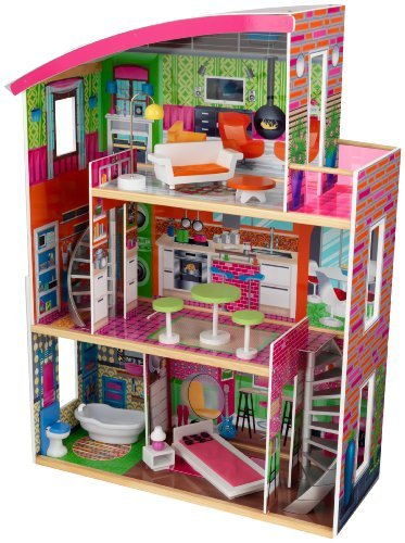 【GINGER掲載商品】 KidKraftツDesigner by Furniture Dollhouse with Furniture with by KidKraft, ジェイピットショップ:f85a54be --- canoncity.azurewebsites.net