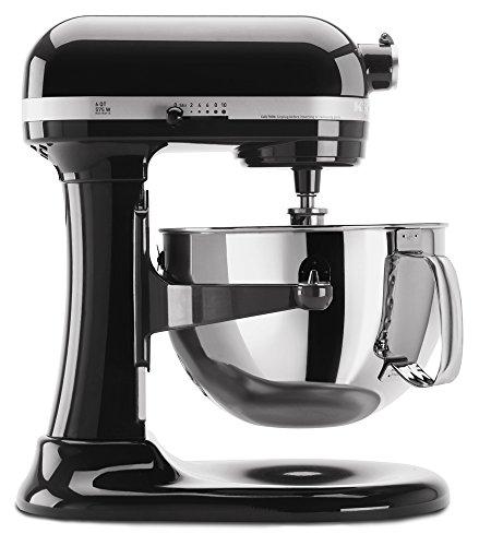 KitchenAid スタンドミキサー プロ6シリーズ KP26M1XOB Professional 600 Series 6-Quart Stand Mixer, B