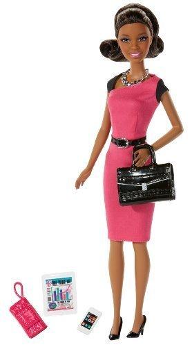 輸入バービー人形職業バービーワールドモデル Barbie Entrepreneur African-American Doll