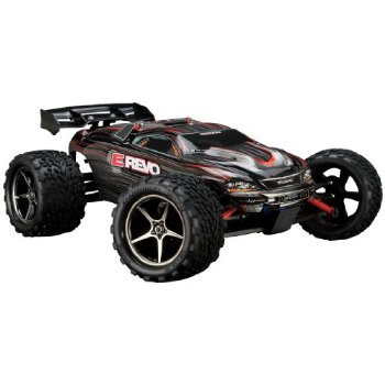 Traxxas 71074 E-Revo VXL Monster Truck, Scale 1/16 - Colors May Vary おもちゃ