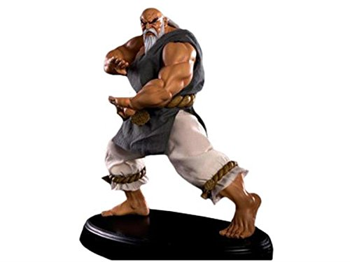 Street Fighter 1/4 Scale Mixed Media Statue - Gouken Street Fighter Statues & Busts